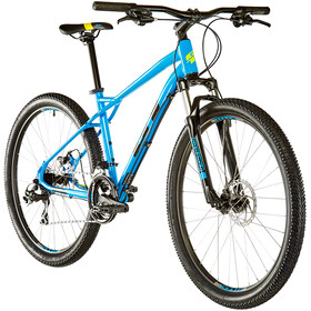 "GT Bicycles Aggressor Sport 27.5"", gloss cyan blue"